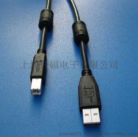 USB2.0打印线,USB数据线 纺织工业设备数据线