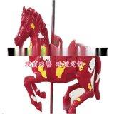 定制 玻璃钢卡通雕塑大型摆件 彩绘马 户外动物景观摆饰