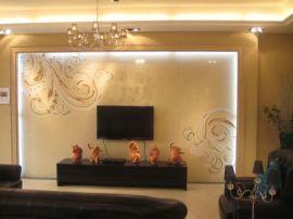 广州春羽秋丰供应理光G5平板打印机**瓷砖 玻璃背景墙UV万能打印机