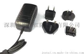 12.6V3.0A插墙式转换头 电池充电器