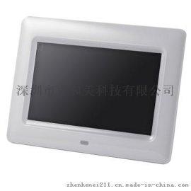 7寸超薄視頻廣告機,USB接口視頻廣告機,手動、遙控、開機自動播放視頻廣告機