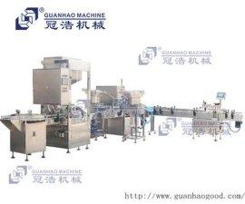 浓酱类 灌装真空旋盖贴标包装机生产线 广州东莞珠海澳门