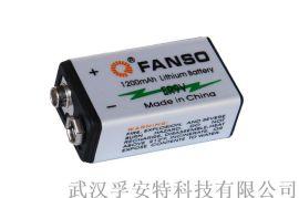 孚安特方形锂亚电池ER9V 烟雾报警器用一次锂电池