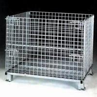 天津仓储笼|蝴蝶笼|仓库笼|铁笼子|折叠式货架