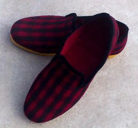 手工春秋呢鞋