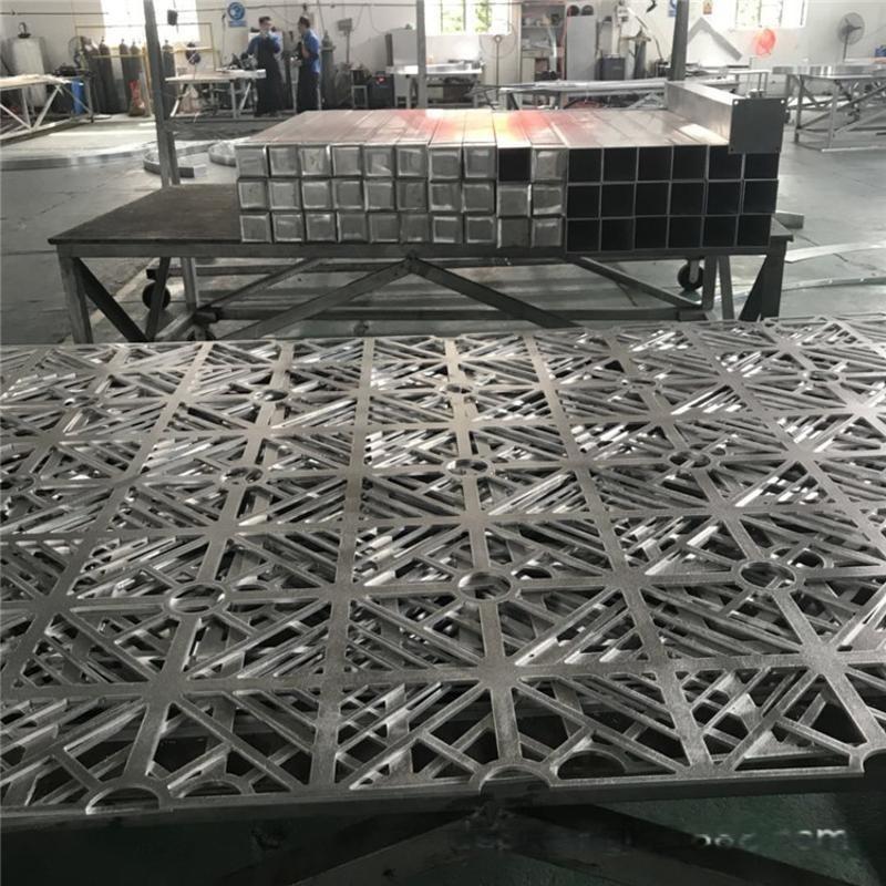 鋁單板門頭  衝鋁單板廣告牌立體效果