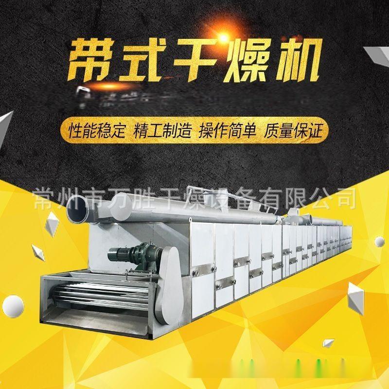 自动化无花果网带式烘干机 带式干燥机定制加工