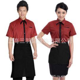 三羽鸽定做日韩料理店服装 酒店餐厅服务员工作服 酒店工作服套装