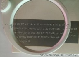 2LED灯ABS材质双镜片 大镜片 环保**放大镜