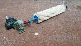 济宁欧科清扫器厂家生产电动滚刷清扫器