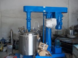 奥力特订做300L乳胶漆类真空搅拌机