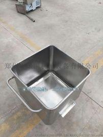 料斗车价格 不锈钢肉料车 国际标准料斗车