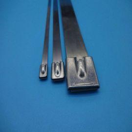 金属不锈钢扎带,电器、标牌使用,拓森厂家定做多种规格