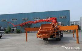 30米混凝土泵车臂架式输送泵车新农村建设