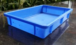 乔丰塑胶方盘制作 防静电五金零件工具箱 乔丰方盘批发