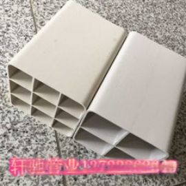 北京pvc格栅管厂家专业生产各种规格塑料管