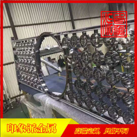 镜面黑钛不锈钢屏风厂家直销,不锈钢制品厂家供应