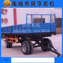 10吨农用拖车 双轴自卸车 长期供应各种吨位挂斗