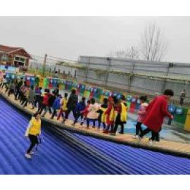 河南大型网红桥充气气垫厚度颜色客户可选