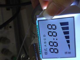宇翔光电厂家  lcd液晶显示屏LED背光懒人塑身机械仪甩脂机