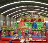 新一代大影響力充氣城堡滑梯廣西桂林兒童遊樂