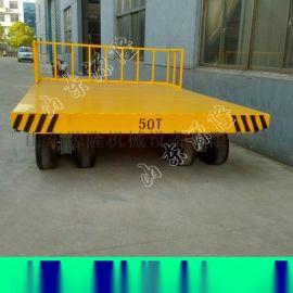 工厂重型运输车 25吨平板拖车 工业平板车