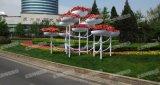 厂家供应 市政道路景观铁艺花架 大型铁艺造型花架 立体组合花盆