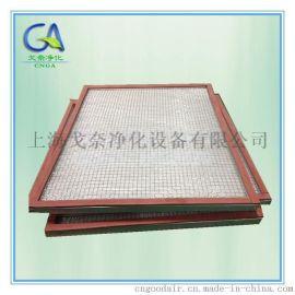 玻璃纤维耐高温气体板式过滤器