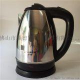 半球不锈钢电热水壶 1.8L烧水壶批发现货