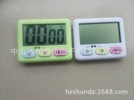 正负倒计时器 超大屏带挂绳厨房定时器提醒器计时器99分59秒