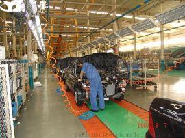 新能源汽车生产线客车变速器箱总装线集放滚轮输送线自动化流水线