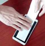生產廠家供應乳白色手機電池易拉膠
