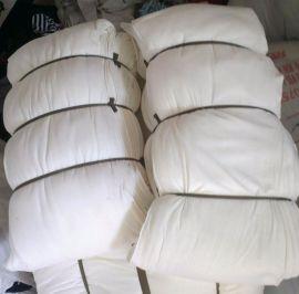 白抹布 全棉针织 揩布 机械抹布 白色擦布 新纺织废料