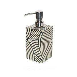 欧式木质黑白纹卫浴套装洗手液瓶子样板房浴室洗手台家居装饰摆件