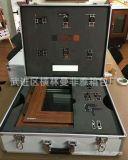 厂家专业定制铝合金仪器设备铝箱 黑色航空拉杆铝箱 军用航空箱