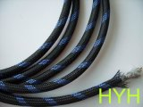 厂家直销PET编织网管、棉线编织套管、镀锡铜编织套管