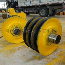 5T-100T定滑輪組雙樑小車鋼絲提升滑輪滑車輪組