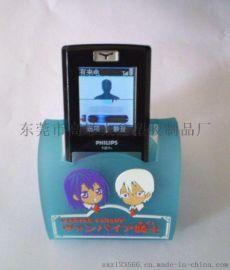 定製廣告手機支架 pvc軟膠手機支架 矽膠手機支架
