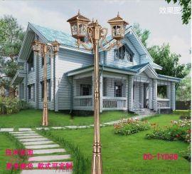 厂家直销户外防水4米庭院景观灯 欧式复古庭院路灯