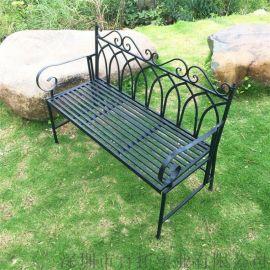 户外公园椅长凳子室外休闲长椅园林椅金属焊接长凳