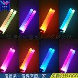 大型运动会演唱会助威道具七彩LED泡沫发光棒