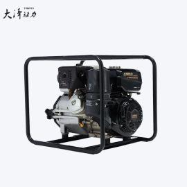 大泽动力柴油高压自吸水泵4寸 TO40EW 高扬程抽水机 定制排污水泵