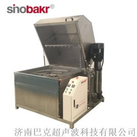 巴克专业定制单工位旋转喷淋清洗机