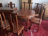 成都古典家具定制 天成明清仿古家具厂 成都新中式实木家具加工 办公桌 大台