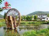 成都黄河水车厂家,田园灌溉用水车定制安装