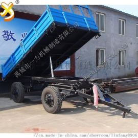 5吨自卸农用拖车,液压自卸翻斗车 多少钱