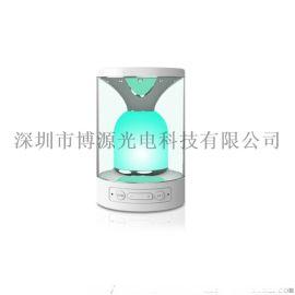内置锂电池七彩小夜灯插卡蓝牙音响免提通话重低音炮