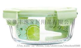 高硼硅耐热圆形玻璃保鲜盒、保鲜碗