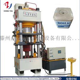 500吨牛羊舔砖液压机粉末成形油压机四柱盐砖机