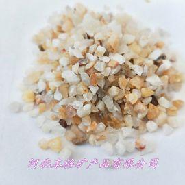 厂家直销石英砂 水处理滤料 喷砂除锈用耐磨石英砂